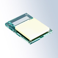 Jade Glass Notepad Holder