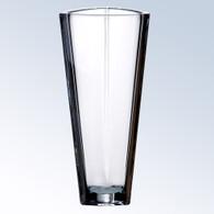 Crystal Triangle Vase
