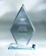 Arrowhead Crystal Award, 3 Sizes Available
