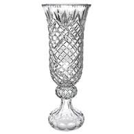 Crystal Hurricane Vase, 3 Sizes Available