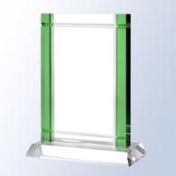 Green Deco W/ Crystal Base