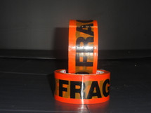 Fragile Tape Single Roll