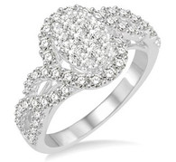 1 CTW Diamond Lovebright Ring