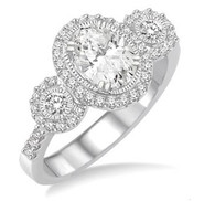 1 1/5 CTW Diamond Engagement Ring