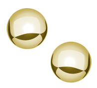 GE221 Gold Ball Earring