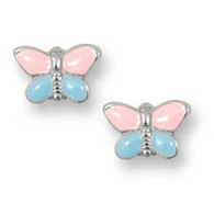 ES306P Butterfly Earrings