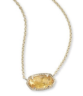 Elisa Necklace in Citrine (November)