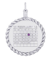Special Date Calendar (Twisted Rope)