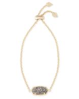 Kendra Scott Elaina Bracelet Gold Tone/Platinum Drusy