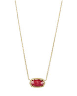 Kendra Scott Elisa Gold Tone/Red Mother of Pearl