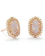 Kendra Scott Cade Earrings Rose Gold/ Iridescent Drusy