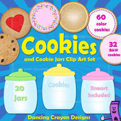 Cookie clipart and cookie jar clipart