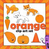 Orange clipart - things that are orange