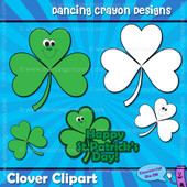 FREE Clip Art: St Patrick's Day Clover