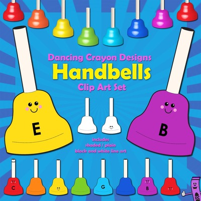 Handbells Clip Art
