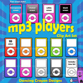 Mp3 Player clip art
