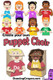 Kodaly Puppets: Singing sol-fa puppets Create your own puppet choir with these fun and colorful paper bag puppets! Kodaly / Curwen hand signs