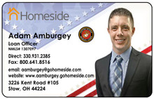 Laminated Color Business Cards -  Elite Mortgage1