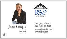 Fast Basic Business Cards  - Fast Photo RSVP1