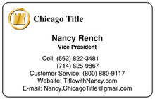 Title Industry. Chicago Title. Select this style and we'll customize it with your information.