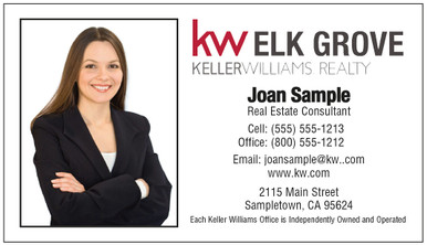 Keller Williams with photo and newest logo