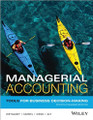 Managerial Accounting: Tools for Business Decision-Making Weygandt Kieso Kimmel Aly 4th Canadian Edition solutions manual