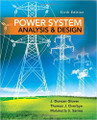 Power System Analysis and Design Glover Overbye Sarma 6th Edition solutions