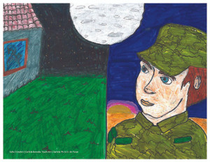 MCEC print Sofia Grade 6 Carlisle Barracks Youth Art, Carlisle, PA