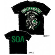 Sons of Anarchy Ireland Black T-shirt
