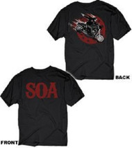 Sons of Anarchy Jax In Action T-shirt
