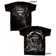 Sons of Anarchy Reaper Smoke T-Shirt