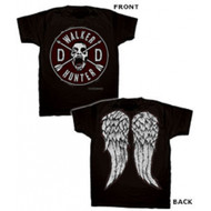 The Walking Dead Daryl Faux Patch and Wings T-Shirt