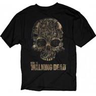 The Walking Dead Skull Of Walkers Adult T-Shirt