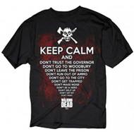 The Walking Dead Keep Calm Adult T-Shirt