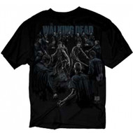 The Walking Dead Protect The Group Adult T-Shirt