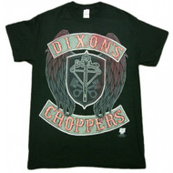 The Walking Dead Daryl Dixon's Chopper Faux Stitch Adult T-Shirt