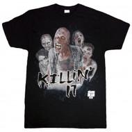 The Walking Dead Killin' It Adult T-Shirt