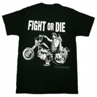 The Walking Dead Dixon Fight Or Die Adult T-Shirt