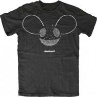 Deadmau5 Silver Foil Logo T-Shirt