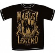 Bob Marley - Rebel Legend Adult T-Shirt
