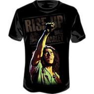 Bob Marley - Arm Up Adult T-Shirt