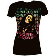 Bob Marley - One Love Peace Juniors T-Shirt