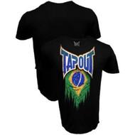 Tapout Brazil Brasil Flag Adult T-shirt