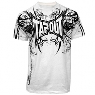 TapouT Darkside Premium Adult White T-shirt