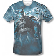 Batman Stormy Knight Vintage Feel Sublimation Print T-shirt
