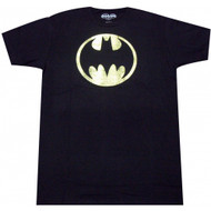Batman Distressed Bat Signal Adult T-Shirt