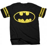 Batman Logo Athletic Style Adult T-Shirt