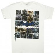 Batman Arkham Knight Arkham Boxes Adult T-Shirt