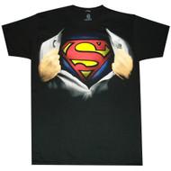 Superman Ripping Open T-Shirt