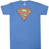 DC Comics Superman Distressed Logo T-Shirt